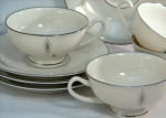 Syracuse china Polaris vintage dinnerware