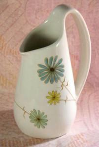 Vintage china creamer Lazy Daisy Ben Seibel