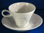 Iroquois china vintage cup saucer Vision Ben Seibel