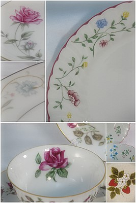 Mother's Day china table setting