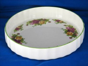 Quiche dish - Old Country Roses