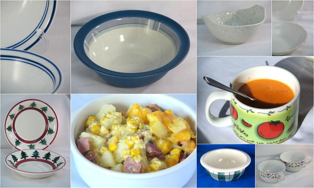 soup bowls comfort food