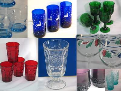Beautiful glassware for your table setting