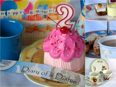 Diary of a Dishie Birthday Cake