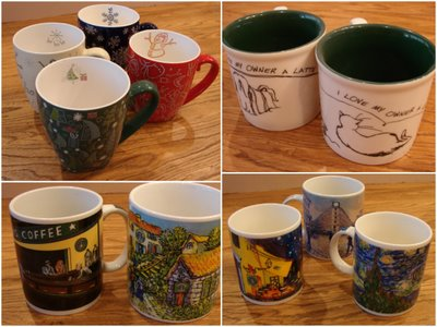 Starbucks coffee mugs