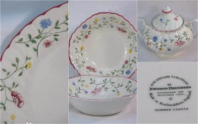 Summer Chintz by Johnson Brothers & Summer Chintz - Charming China