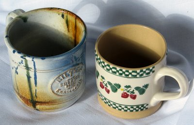 Nicholas Mosse and Kiltrea Irish mugs