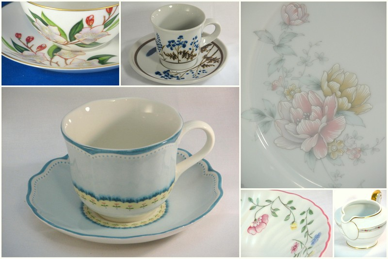 Pretty and floral dinnerware  sc 1 st  - Diary of a Dishie & Diary of a Dishie