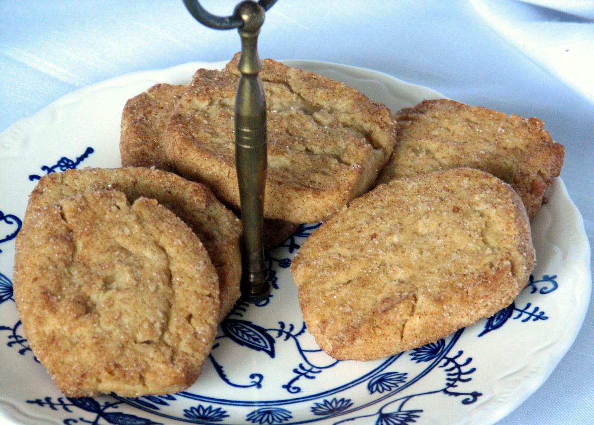 Slice O Spice cinnamon refrigerator cookies