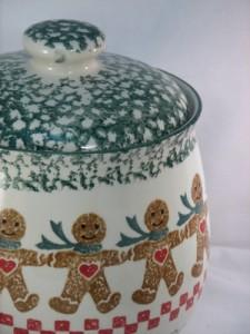 Tienshan folkcraft cookie jar