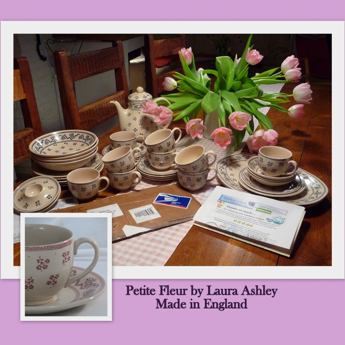 English dinnerware Laura Ashley