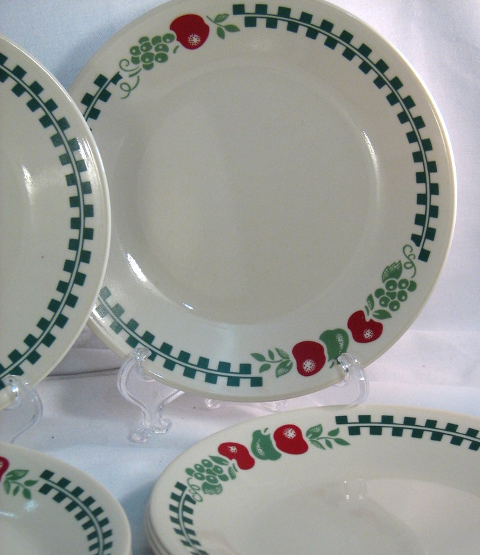 Farm Fresh Corelle Dinnerware Sweet Country Charm