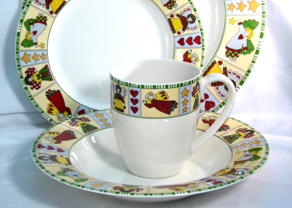 Vintage Mikasa china holiday dinnerware