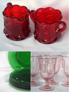 Mosser glass tableware
