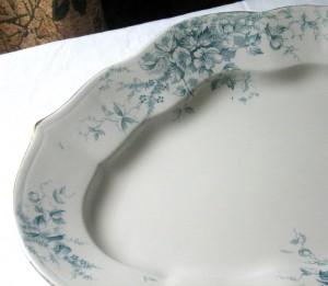 English china Colonial platter