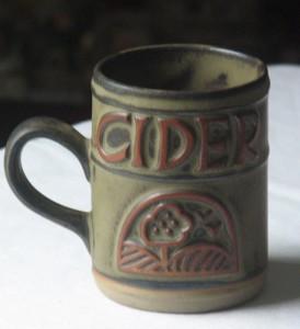 Tremar Pottery cider mug Cornwall