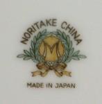 Noritake china Morimura mark