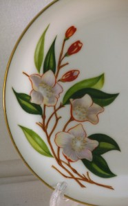 vintage Noritake china detail