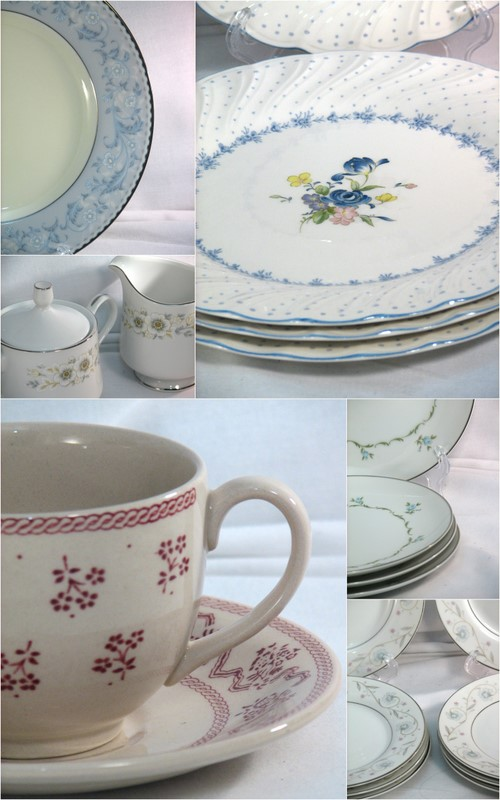 vintage china for wedding style