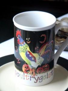 Poultrygeist Halloween mug