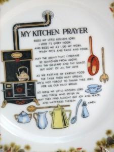 Artmark vintage kitchen plate