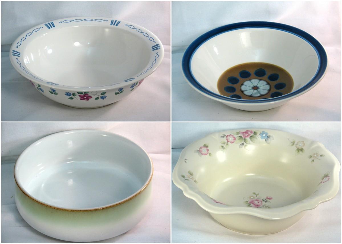 Selection of vintage serving bowls