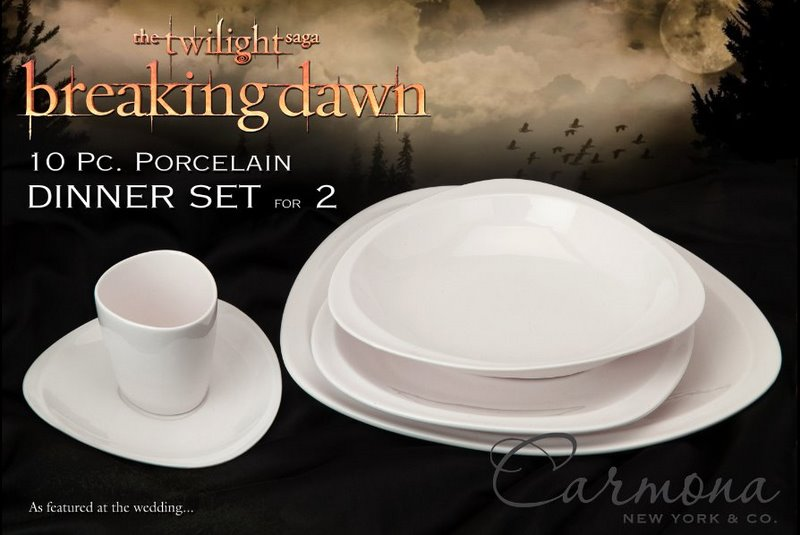 Breaking Dawn dinnerware