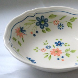 vintage Sears china Country French
