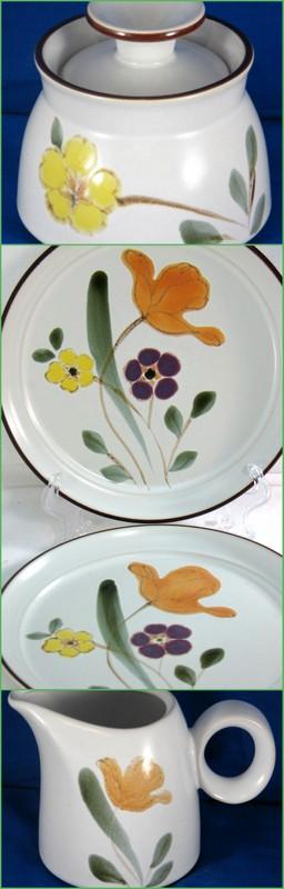Noritake stoneware in the Hello Spring pattern