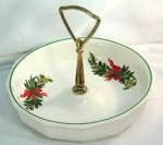 Tidbit dish Christmas Heritage Pfaltzgraff