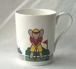 Bone china mug Studio Nova golf
