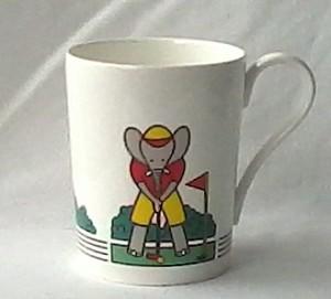 Bone china mug Studio Nova golf