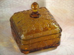 Tiara glass honey box Indiana