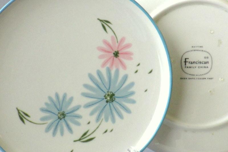 Vintage dinnerware Franciscan Maytime