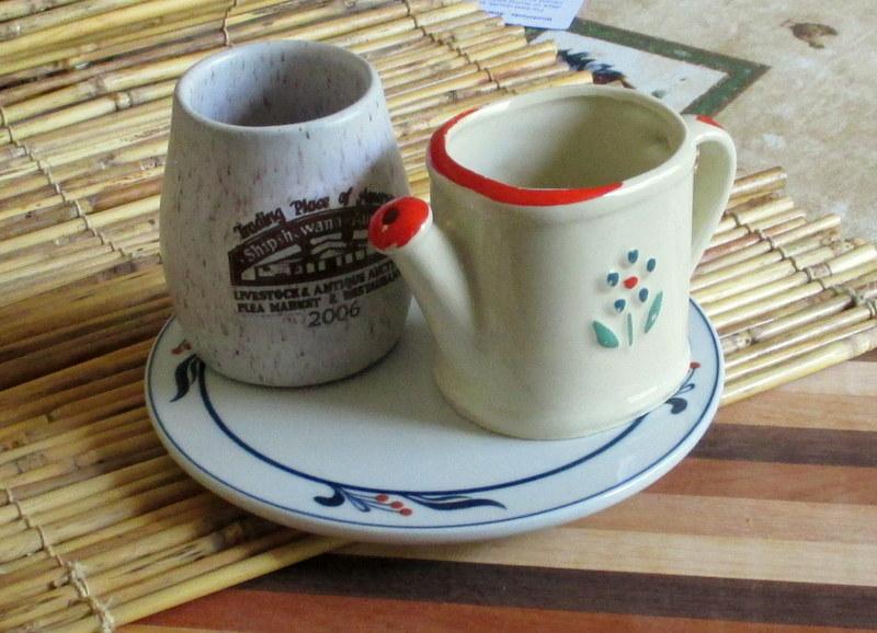 Vintage tableware bohemian