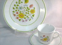 Meadow by Corelle vintage dishes