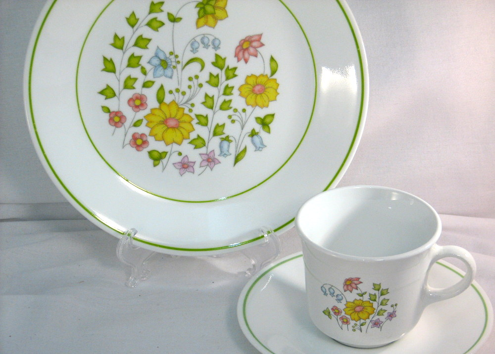 & Vintage Corelle Dinnerware Old Friend
