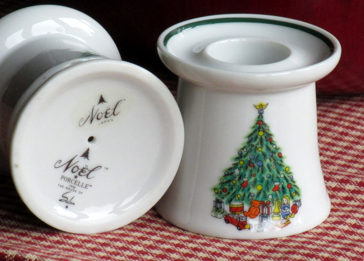 Vintage Salem china candle holders