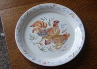 Corelle plate Country Morn
