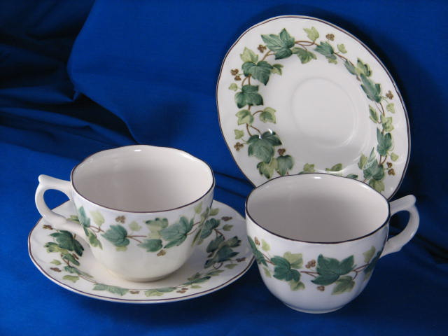 Vintage china by Nikko Greenwood pattern