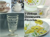 Vintage Dinnerware Favorites