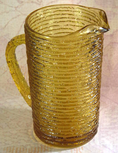 Vintage glassware pitcher Soreno