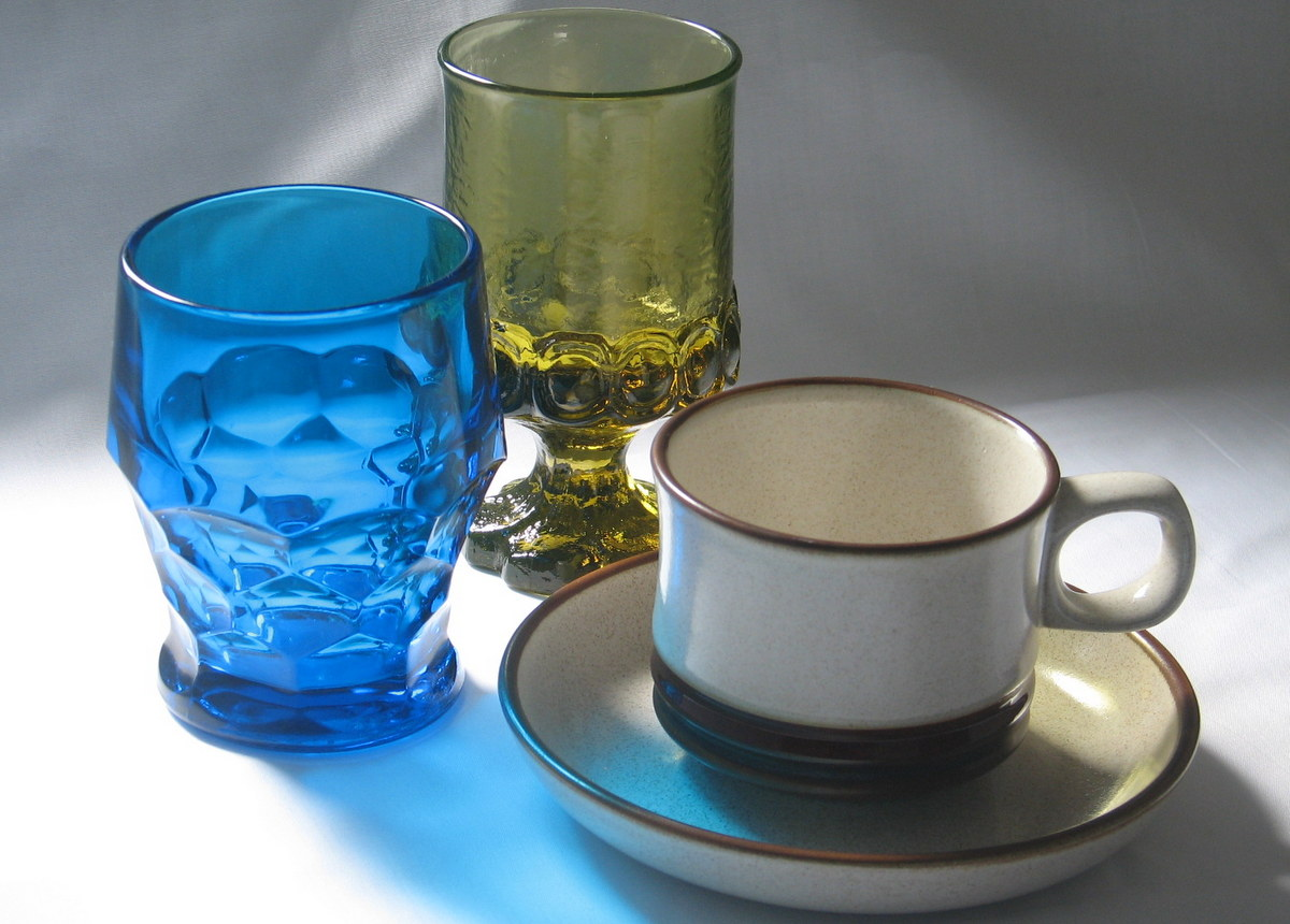 Somve examples of vintage dishes