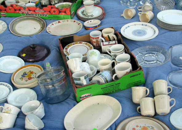Haul of vintage dishes